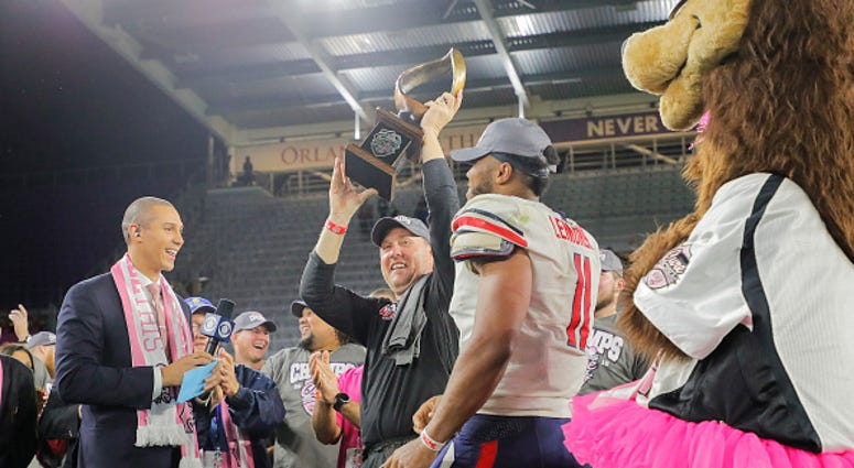 Liberty Wins Cure Bowl