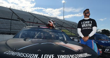Bubba Wallace Jr. is the only black driver in the NASCAR Cup Series right now.