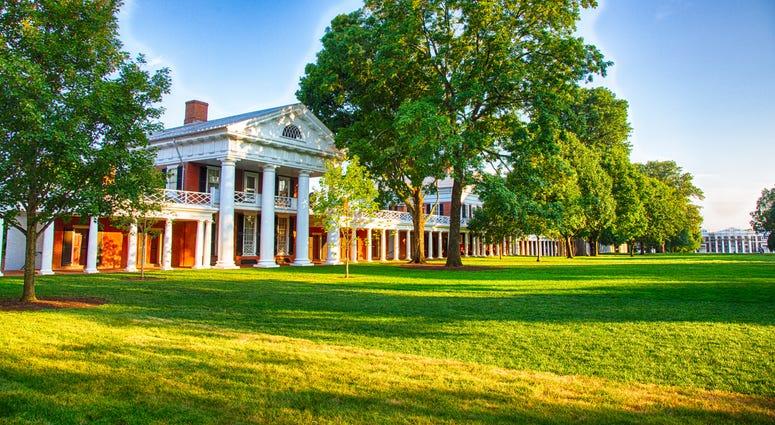UVA Campus sunset