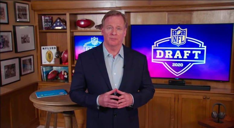 Goodell 2020 NFL Draft