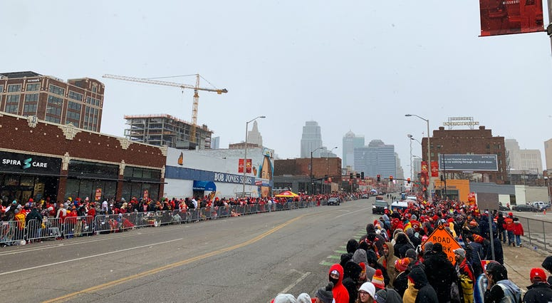 Chiefs Championship Parade