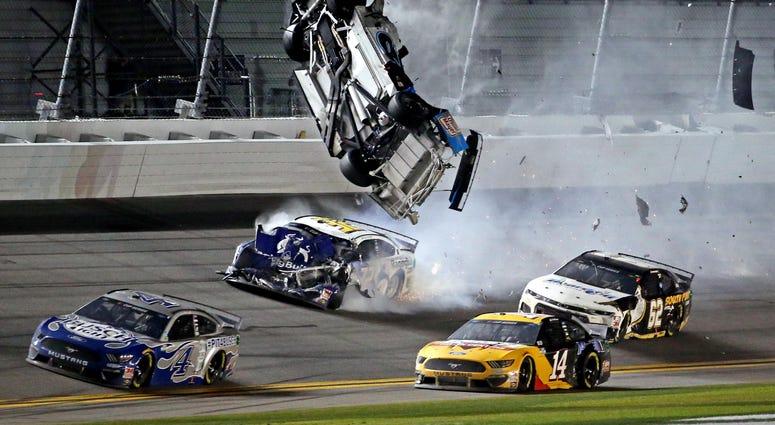 Ryan Newman Crash