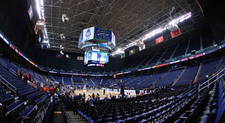 ACC Tournament 2020 Empty Arena