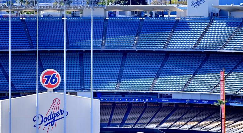 Empty Dodgers Stadium