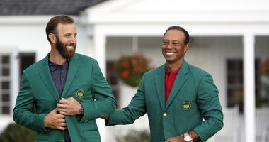 Dustin Johnson & Tiger Woods