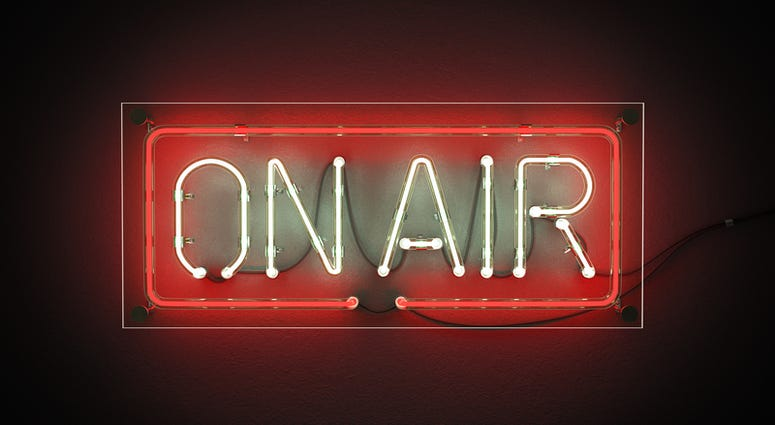 On air light