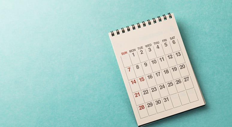 Calendar on Desk - Getty Images