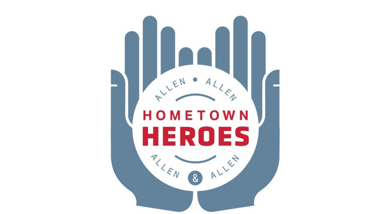 Allen and Allen hometown hero