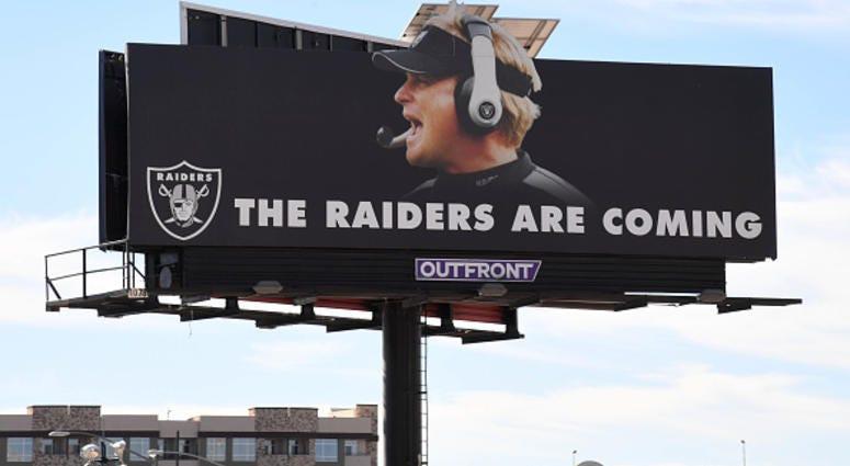Las Vegas Raiders Billboard