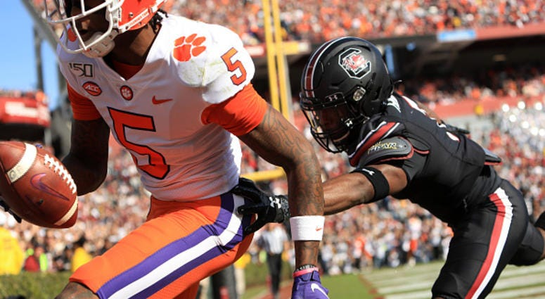 Clemson vs South Carolina