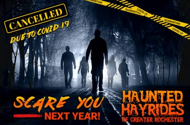 2020 Haunted Hayride Cancelled