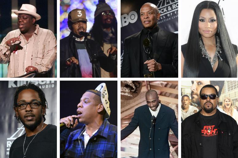 40 Years of Hip Hop featuring Biggie, 2 Pac,Chance the Rapper, Dr. Dre, Nicki Minaj, Kendrick Lamar, Jay Z, 2 Pac, Ice Cube