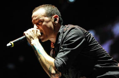 Chester Bennington of Linkin Park.