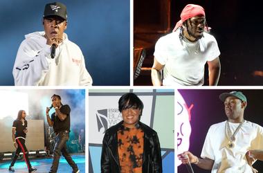 JAY-Z, Kendrick Lamar, Migos, Rapsody, Tyler, The Creator