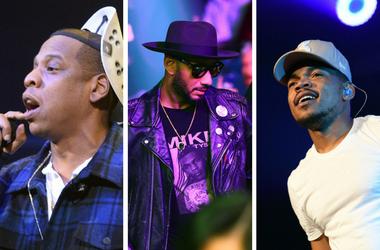 JAY-Z, Swizz Beats, Chance the Rapper