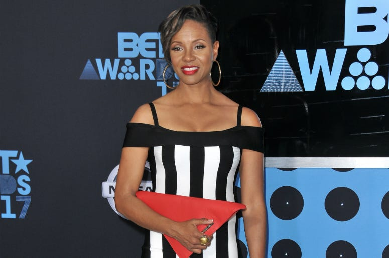 MC Lyte at the 2017 BET Awards held at Microsoft Theater on June 25, 2017 in Los Angeles, CA, USA