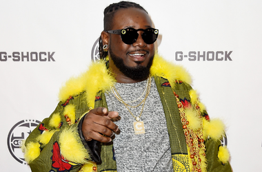 T-Pain attends the G-Shock 35th Anniversary Celebration at The Theater at Madison Square Garden on November 9, 2017 in New York City.