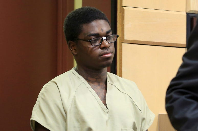 Kodak Black in court for the third day of his probation hearing.
