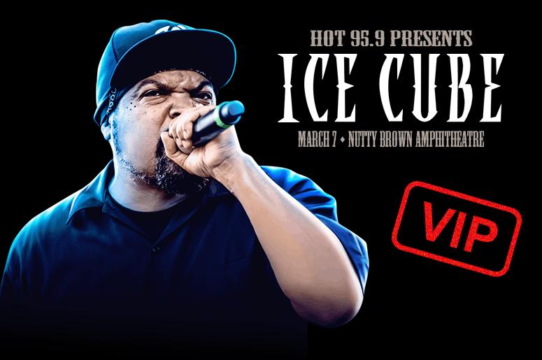 VIP at Ice Cube - HOT 95.9