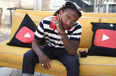 Singer Jacquees attends the YouTube Pre-BET Awards party at NeueHouse Hollywood on June 24, 2017