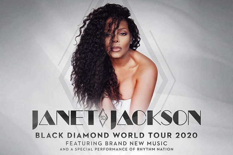 Janet Jackson Black Diamond Tour AT&T Center