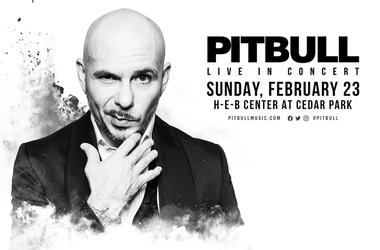 Pitbull H-E-B Center at Cedar Park - HOT 95.9