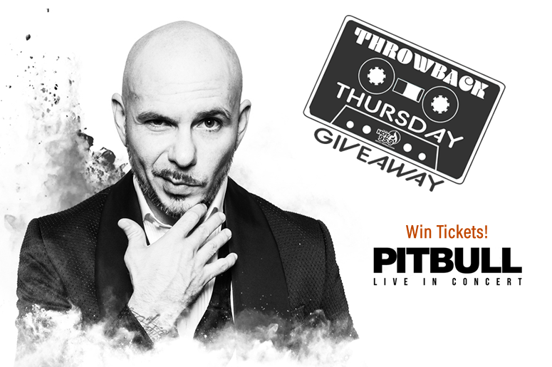 Pitbull Throwback Thursday Giveaway - HOT 95.9