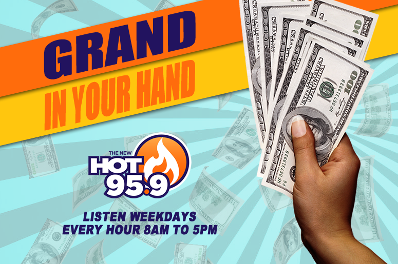 Grand In Your Hand - HOT 95.9 Austin