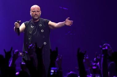Disturbed performs in Las Vegas