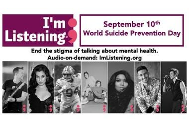 I'm Listening World Suicide Prevention Day