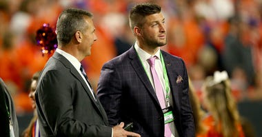 Tim Tebow and Urban Meyer