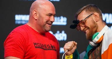 Conor McGregor and Dana White
