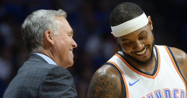 Carmelo Anthony and Mike D'Antoni
