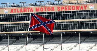 NASCAR Confederate Flags