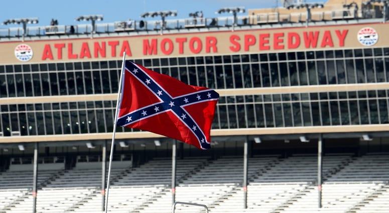 NASCAR Confederate Flags