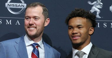 Lincoln Riley and Kyler Murray