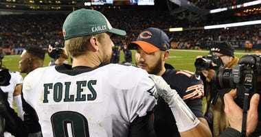 Nick Foles and Mitchell Trubisky