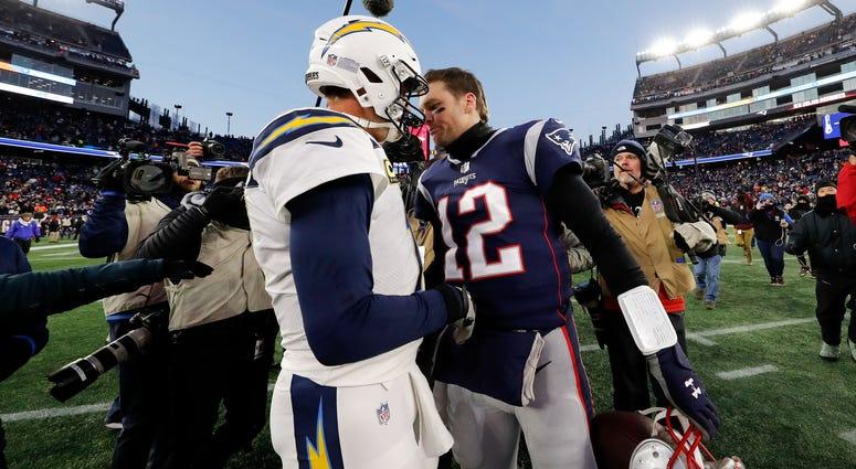 Philip Rivers and Tom Brady