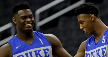 Zion Williamson and RJ Barrett