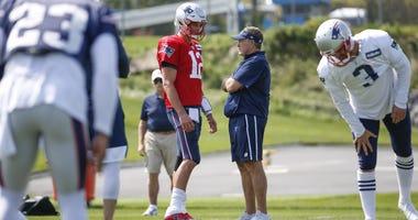 Bill Belichick and Tom Brady