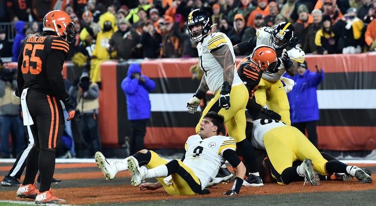 Browns vs. Steelers 2