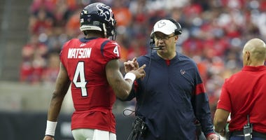 Bill O'Brien and Deshaun Watson