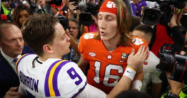 Joe Burrow and Trevor Lawrence