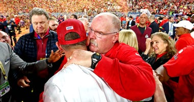 Kyle Shanahan and Andy Reid