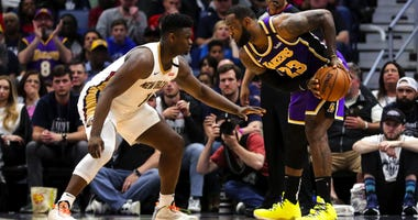 LeBron James vs. Zion Williamson