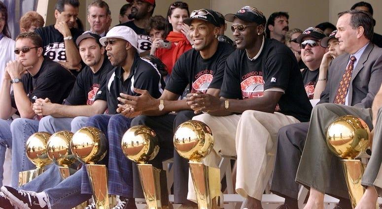 97-98 Chicago Bulls