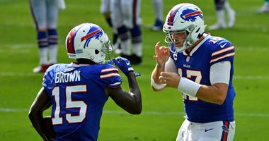 Josh Allen and John Brown