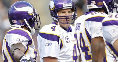 Brett Favre and Percy Harvin