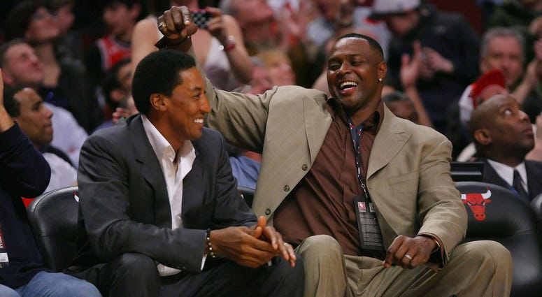 Horace Grant and Scottie Pippen