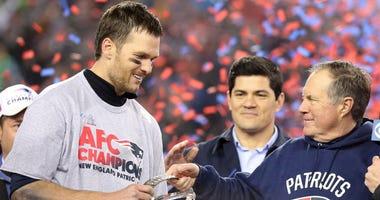 Tom Brady and Bill Belicheck